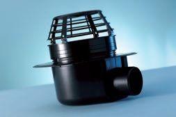salg af FDT VarioGully, vinklet DN 70/DN 100, med varme vinklet, ekstremt flad, med varme