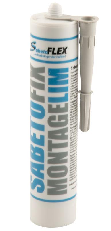 salg af SabetoFIX montage lim grå
