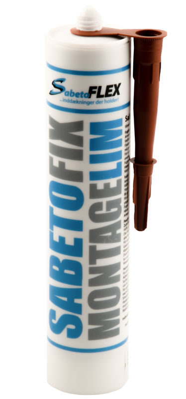 salg af SabetoFIX montage lim rød