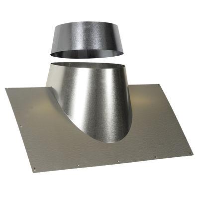 salg af SabetoFLEX stål Kip Inddækninger 60x50 cm blank 0150